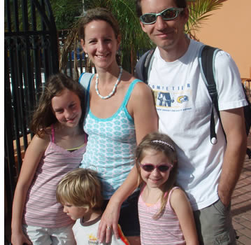 Mange familier kommer til Boquete for en familie ferie og for å lære spansk sammen
